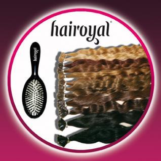 100 Extensions von Hairoyal® gewellt + Profi-Extensionsbürste