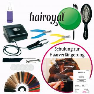 Hairoyal® Profiset inkl. Schulung, Salongerät Special Professional, 3 Poster und Zubehör