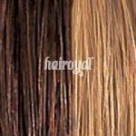 she by SO.CAP. Extensions glatt #8/26 bicolour- dark blonde/light golden blonde streak