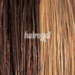 she by SO.CAP. Extensions gewellt #8/26 bicolour- dark blonde/light golden blonde streak