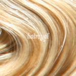 Hairoyal® Clip-On-Tressen-Set - glatt #140- bicolour - Naturblond/Hellblond gesträhnt