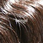 Hairoyal® Clip-On-Tressen-Set - gewellt #4- Mittel-Dunkelbraun