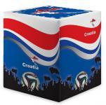 Sitzwürfel WM Kroatien Croatia Maße: 35 cm x 35 cm x 42 cm