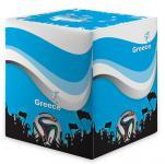 Sitzwürfel WM Griechenland Greece Maße: 35 cm x 35 cm x 42 cm
