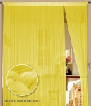Fadenvorhang 150 cm x 300 cm (BxH) gelb