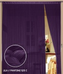 Fadenvorhang 150 cm x 300 cm (BxH) lila