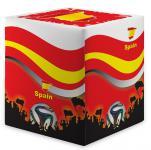 Sitzwürfel WM Spanien Spain Maße: 35 cm x 35 cm x 42 cm