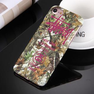 Day Night Schutzhülle Cover für Apple iPhone 7 Style Hardcase Case Blätter