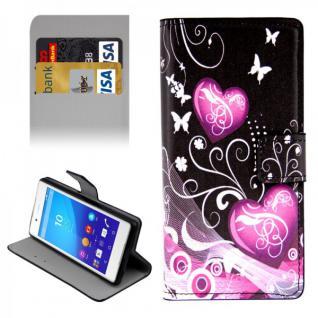 Schutzhülle Muster 76 für Sony Xperia Z3 Plus E6553 Bookcover Tasche Hülle Case