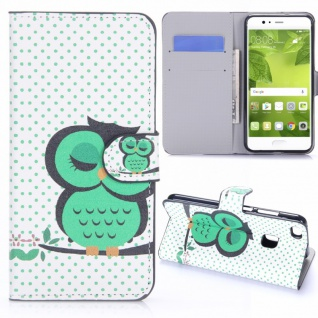 Schutzhülle Muster 25 für Huawei P10 Lite Bookcover Tasche Case Hülle Wallet Neu
