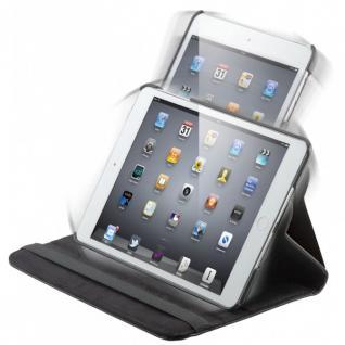 Original Goobay Schutzhülle 360 Grad Schwarz für Apple iPad Mini Retina + Folie