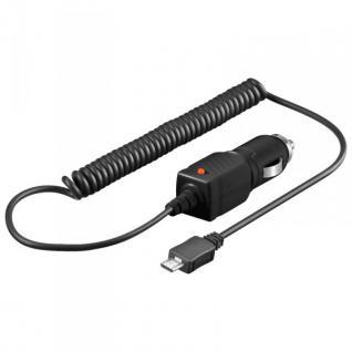 Original Goobay KFZ Ladekabel Micro USB Laden für HTC Sony Nokia Samsung LG Neu