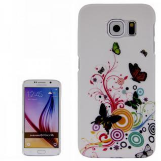 Hardcase Motiv 2 für Samsung Galaxy S6 G920 G920F Hülle Case Cover Tasche Schutz