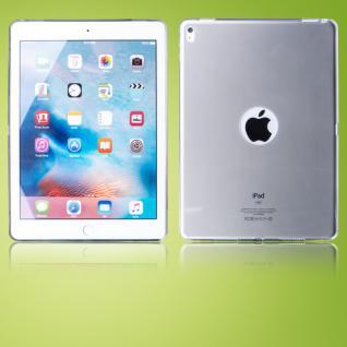 Schutzhülle Silikon Glossy Grau Hülle für Apple iPad Pro 9.7 Zoll Tasche Cover