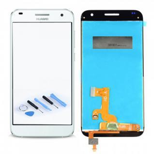 Ersatz Display LCD Komplett Einheit für Huawei Ascend G7 Reparatur Weiß Ersatz