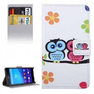 Schutzhülle Motiv 33 für Sony Xperia Z5 Compact 4.6 Zoll Bookcover Tasche Case