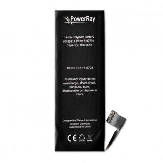 Akku Batterie Battery PR-616-0728 für Apple iPhone 5S 1560 mAh Bulk 3, 8V