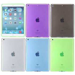 Schutzhülle Silikon Glossy Hülle Case Cover Schutz für Apple iPad Air + Folie