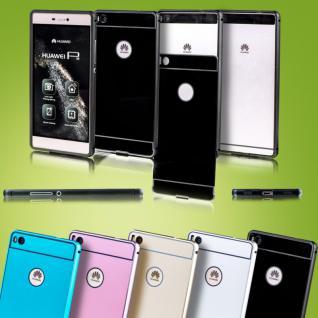 Premium Alu Bumper 2 teilig mit Abdeckung für Smartphones Tasche Hülle Case Neu