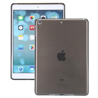 Schutzhülle Braun Etui Silikon Glossy Hülle Case für Apple iPad Air + Folie Neu