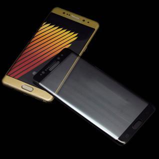 0, 3 mm H9 gebogenes Panzerglas Schwarz Folie für Samsung Galaxy Note 7 N930F Neu