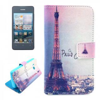 Schutzhülle Muster 42 für Huawei Ascend Y300 Bookcover Tasche Hülle Wallet Case