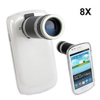 Kamera Telescope für Samsung Galaxy S3 Mini i8190 8x Objektiv Zubehör Objektiv