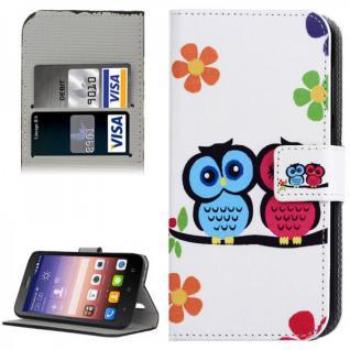 Schutzhülle Muster 41 für Huawei Ascend Y625 Bookcover Tasche Hülle Wallet Case