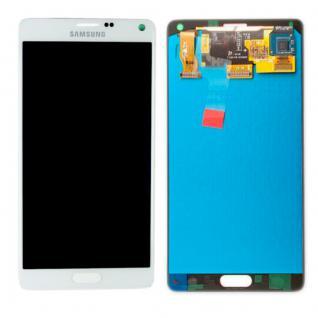 Display LCD Komplettset GH97-16565C Weiß für Samsung Galaxy Note 4 N910F Ersatz
