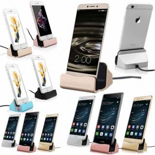 Dockingstation Dock für Micro-USB 5 Pin / TYP-C / für Apple Smartphones Laden