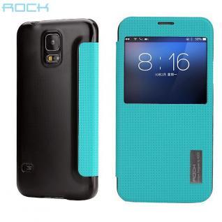 Original ROCK Smartcover Blau für Samsung Galaxy S5 Tasche Cover Case Hülle Neu