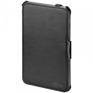 Original Goobay Schutzhülle Schwarz für Samsung Galaxy Tab 3 7.0 P3200 + Folie