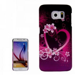 Hardcase Motiv 17 für Samsung Galaxy S6 G920 G920F Hülle Case Cover Tasche Neu