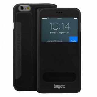 Bugatti BookCover Lausanne Schutzhülle Etui Tasche für Apple iPhone 6 4.7 Hülle