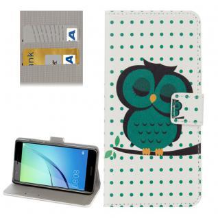 Schutzhülle Muster 80 für Huawei Nova Bookcover Tasche Case Hülle Wallet Etui