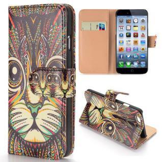 Wallet Tasche Motiv Muster 56 für Apple iPhone 6 4.7 Tasche Hülle Zubehör Case