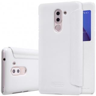 Nillkin Smartcover Weiß für Huawei Honor 6X Tasche Hülle Case Etui Schutz Neu