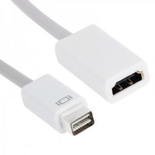 Display Adapter von Mini DVI auf zu HDMI 19 PIN für Apple Macbook Pro Zubehör