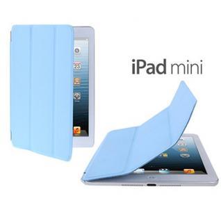 Smart Cover Hellblau für Apple iPad Mini / Mini 2 Retina Hülle Tasche Schutz Neu