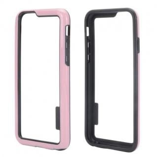 Hybrid Schutz Bumper Rosa Hülle Case Tasche für Apple iPhone 6 4.7 Kappe Neu Top