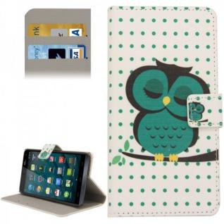 Schutzhülle Muster 75 für Wiko Getaway Bookcover Tasche Hülle Wallet Case Flip