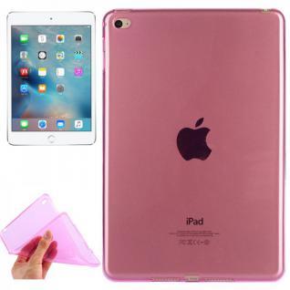 Schutzhülle Silikon Glossy Serie Pink Hülle für Apple iPad Mini 4 7.9 Tasche Neu