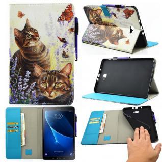 Schutzhülle Motiv 57 Tasche für Samsung Galaxy Tab A 10.1 T580 T585 Hülle Cover
