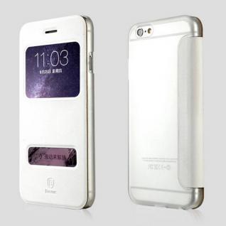 Original Baseus View Tasche Weiss für Apple iPhone 6 Plus 5.5 Etui Hülle Schutz