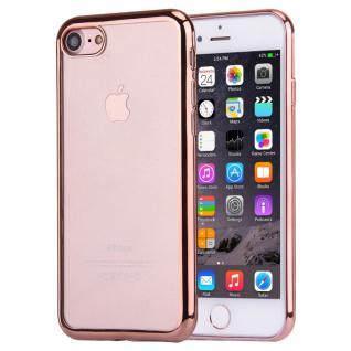 Premium TPU Schutzhülle Pink für Apple iPhone 7 4.7 Tasche Backcover Silikon Neu
