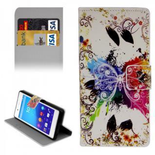 Schutzhülle Muster 13 für Sony Xperia Z3 Plus E6553 Bookcover Tasche Hülle Case