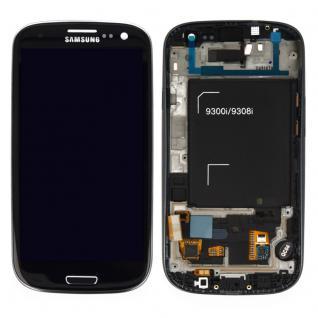 Display LCD Komplett Einheit GH97-15472E Schwarz für Samsung Galaxy S3 Neo i9301