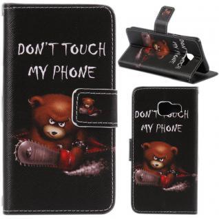 Schutzhülle Muster 51 für Huawei P9 Lite Bookcover Tasche Case Hülle Wallet Etui