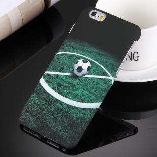 Day Night Schutzhülle Cover für Apple iPhone 6S 6 Style Hardcase Fußball Muster