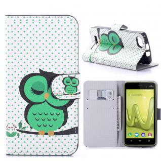 Schutzhülle Muster 41 für Wiko Lenny 3 Bookcover Tasche Hülle Wallet Case Etui